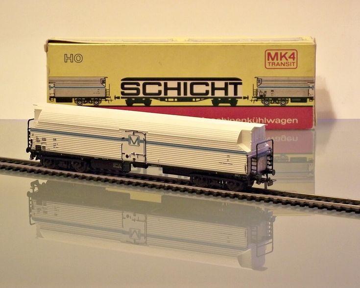 SCHICHT (PIKO) Nr. 426/101 - MK 4 refrigerator wagon (HO)