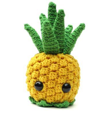 Pineapple amigurumi crochet pattern