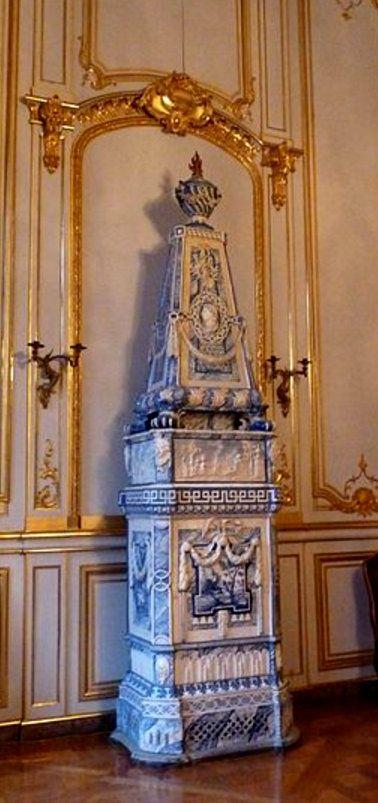 Strasbourg, Palais Rohan - Poële en faïence Aker - vers 1770
