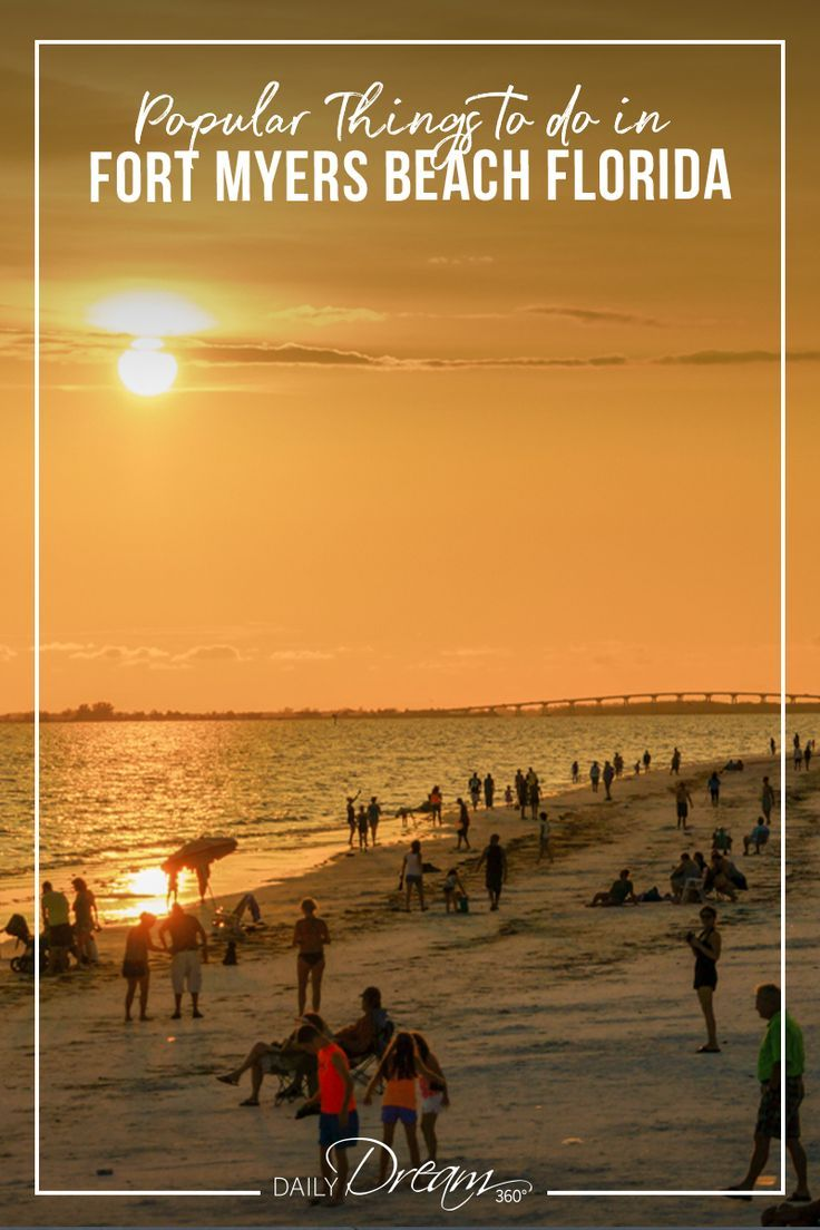Dream Beach Vacation On Fort Myers Beach Florida Fort Myers