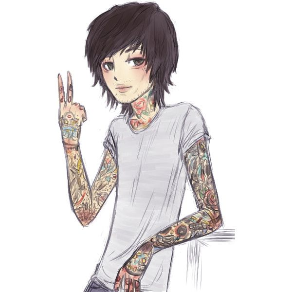 The Adventures Of Oliver Sykes ❤ liked on Polyvore