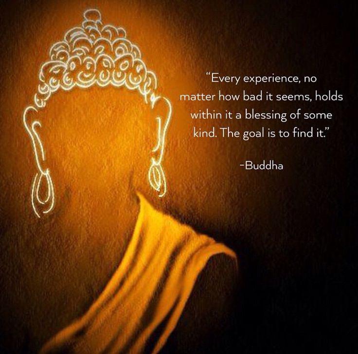 Every experience.... Buddha