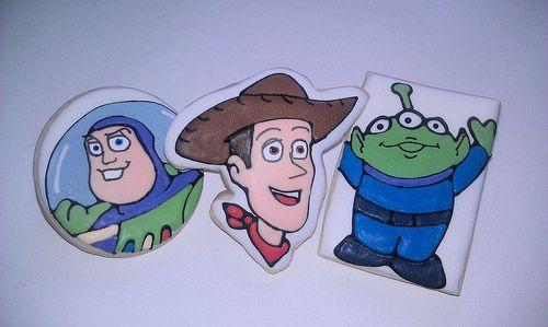 Disney Toy Story Cookies