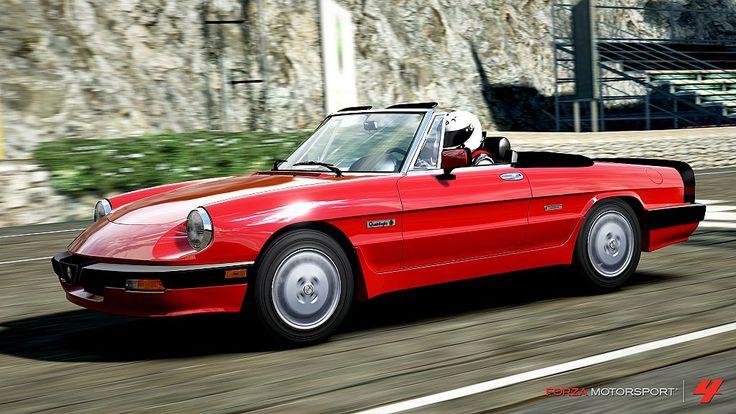 Cars You Can Drive In Forza Horizon 2 Forza Motorsport Alfa Romeo Spider Forza