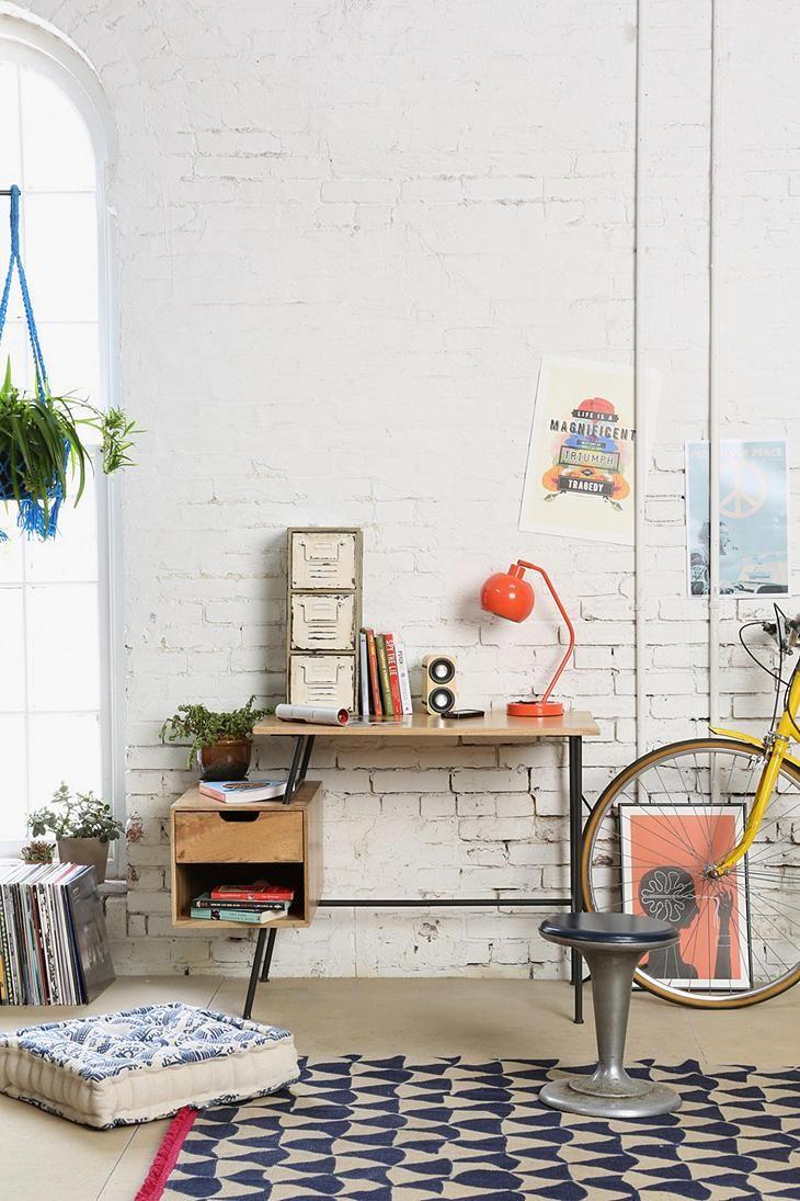 4040 Locust Paperclip Desk #urbanoutfitters