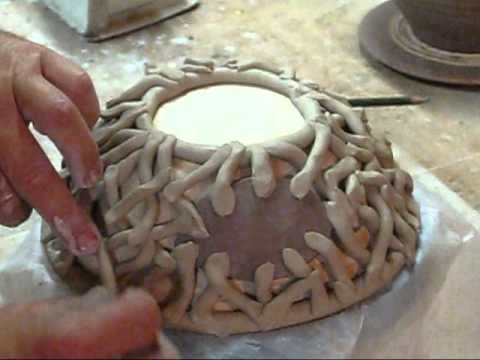 Clay Hand Building Ideas | HAND BUILDING A FISH BOWL.wmv [+/-]