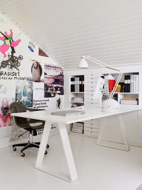 Home Office Design In Vintage Style BASF Corporate Offices By SPACE, Mexico  City Office Design Home Office Inspiration / Inspiration Bureau .