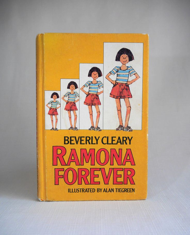 Ramona Forever by Beverly Cleary, Beloved Children's Novel of Ramona Quimby & Friends, Illustrator A. Tiegreen, Hardback by CactusWrenVintage on Etsy