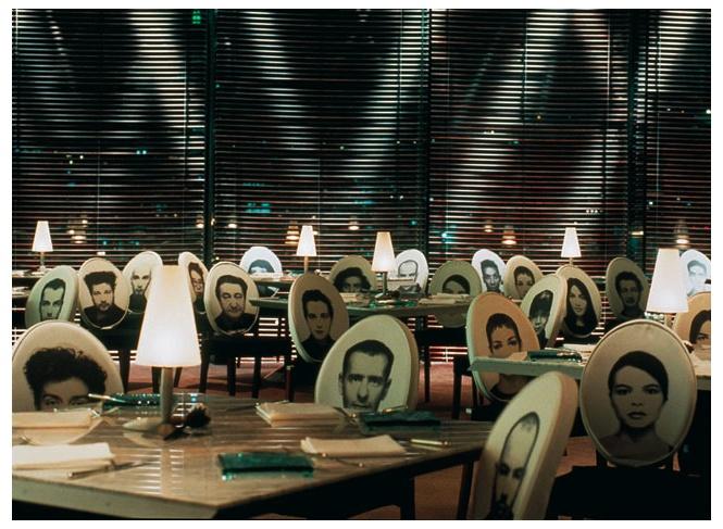 Restaurant felix in the peninsula hotel hong kong by