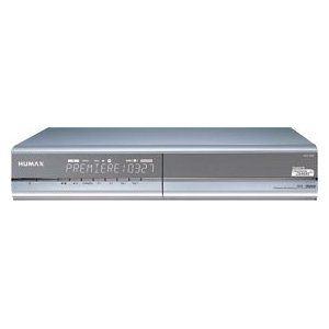 HUMAX Digital Satellite Receivers iPDR 9800 with 160 GB hard drive (Premiere certified) silver top Price   Receiver with Hard Drive