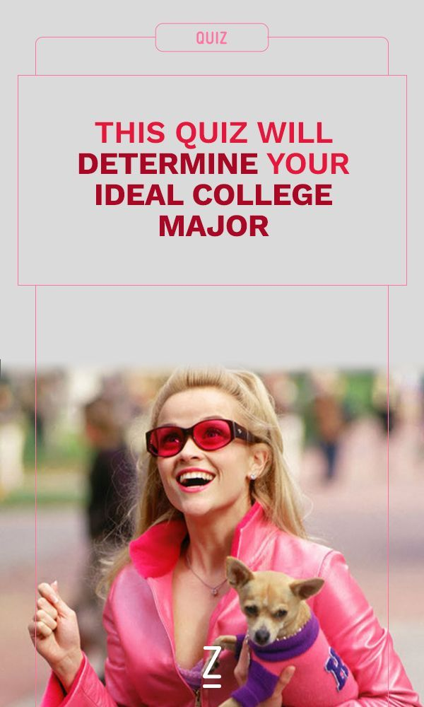 This quiz will determine your ideal college major.