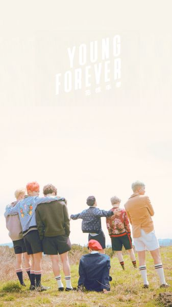 BTS / Wallpaper / Young Forever