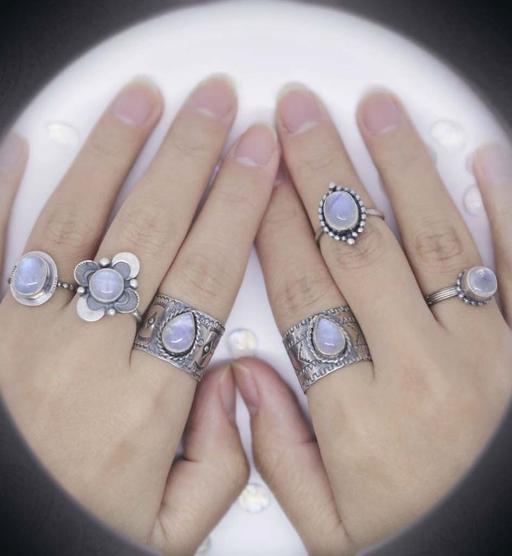 New collection designed for all gypsy lovers and wanderlust. Enjoy our new line of rainbow moonstone rings