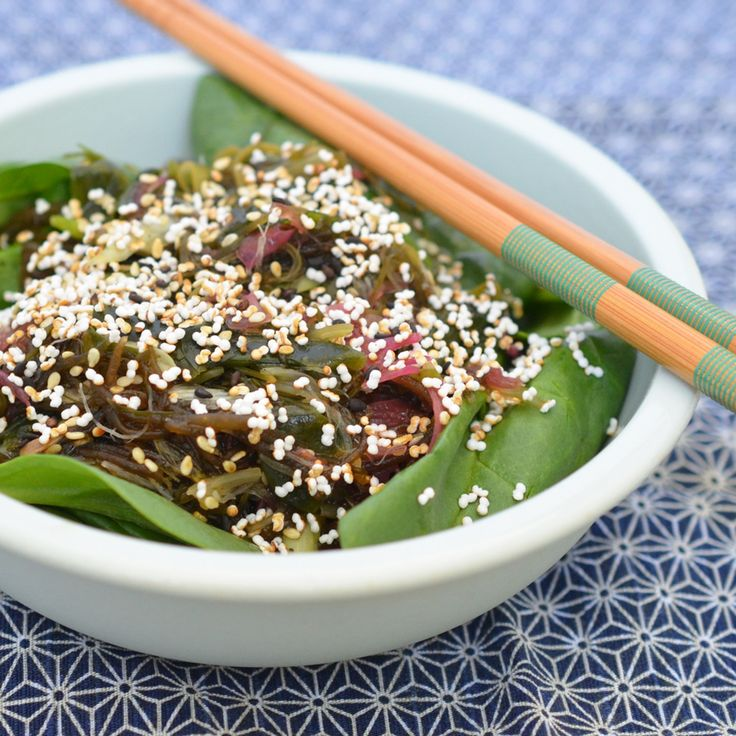 Recipe: Seaweed Salad with Popped Amaranth & Sesame — Recipes from The Kitchn