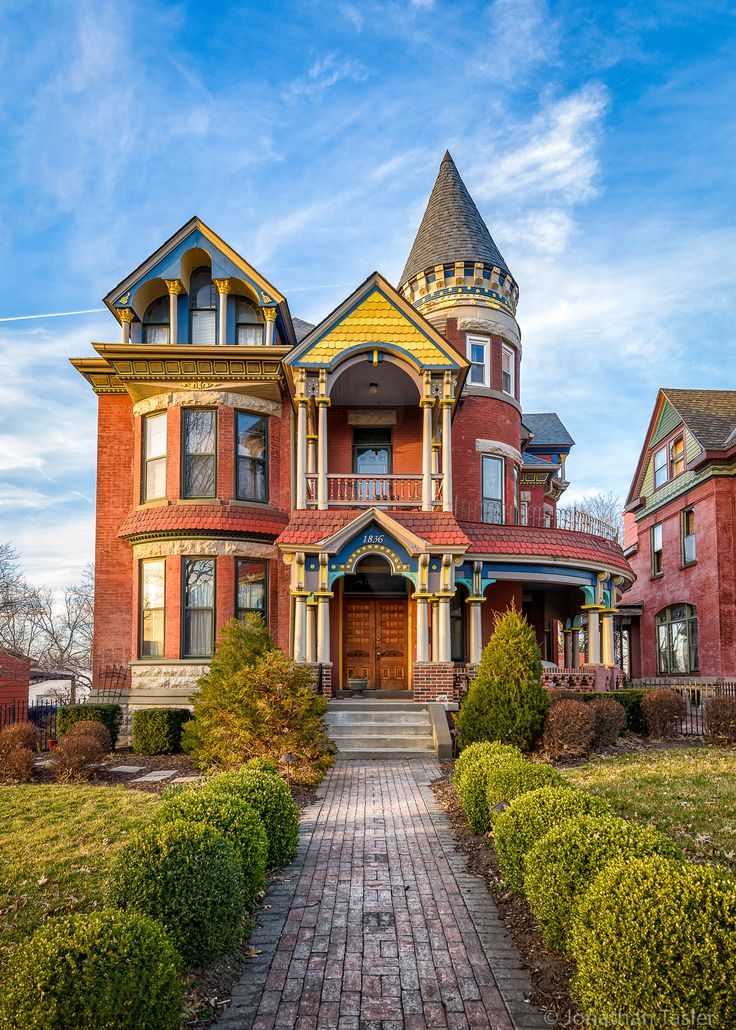 Kansas City Painted Lady In 2019 Midwest Travel