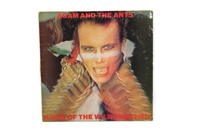 ADAM ANT - Vintage Record Vinyl Album - KINGS OF THE WILD FRONTIER