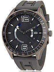 Tommy Hilfiger Grey Silicon Analog Men Watch -  Find watches for men online at best prices. Compare men's watches price list in India & buy #MenWatches #WristsWatch #LuxuryWatches #AnalogWatch #SportsWatches etc.  https://youtellme.com/watches/watches-for-men/tommy-hilfiger-grey-silicon-analog-men-watch-nth1790799-d/