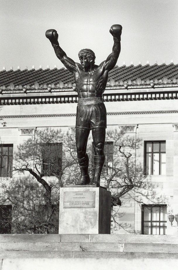 The Rocky Statue (I visited this! )