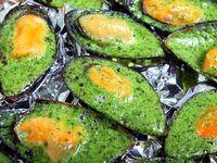 Stuffed mussels – Recipe of mussels stuffed with garlic butter