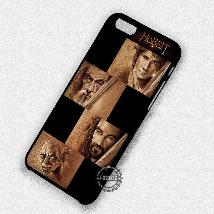 Collage Characters The Hobbit - iPhone X 8  7 6s SE Cases & Covers #movie #thehobbit #iphonecase #phonecase #phonecover #iphone7case #iphone7 #iphone6case #iphone6 #iphone5 #iphone5case #iphone4 #iphone4case #iphone8case #iphoneXcase #iphone8plus
