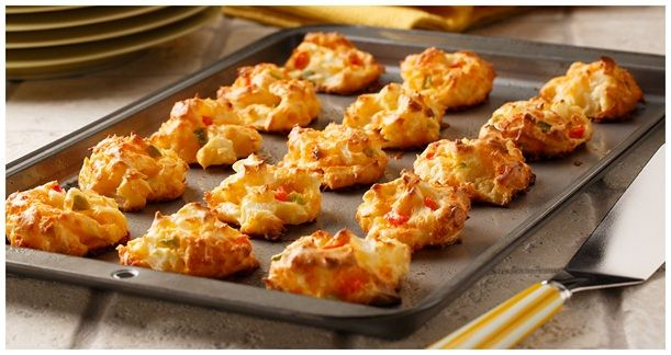 Ore-Ida - Recipes - Cheesy Potato Puffs