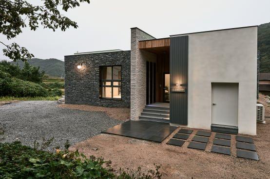 Mejores 17 imgenes de Fachadas de piedra para exteriores modernos