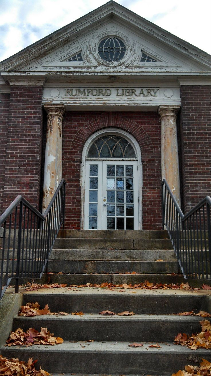 An abandoned historic Library in East Providence, RI