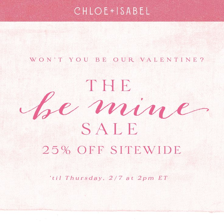 The Be Mine 💞 Sale ends tomorrow afternoon. Don't miss ...