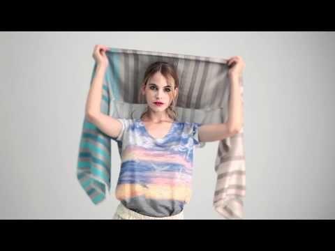 ▶ 7 formas de ponerte un turbante (paso a paso) - YouTube