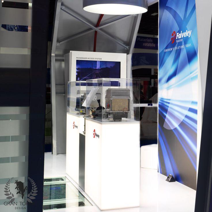 Faiveley exhibition stand for Expoferroviaria. Turin,Italy. Gran Torino Design 2011