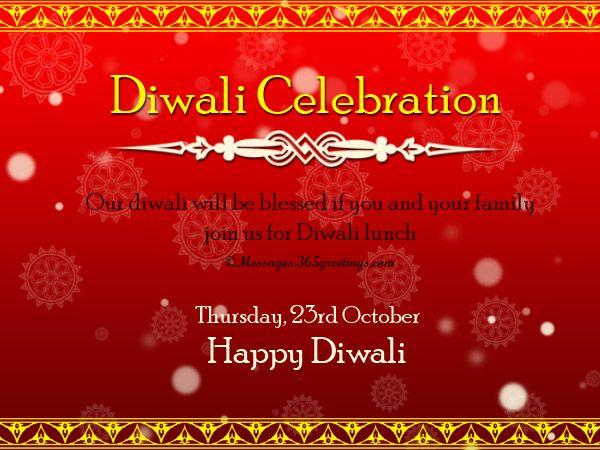Diwali Invitation Wordings Ideas Messages And Invitations