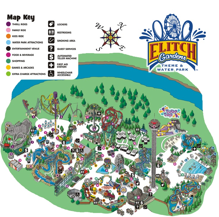 Elitch Gardens Fun Things To Do After Class Pinterest