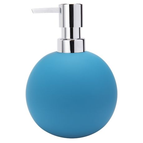 Soft Touch Soap Dispenser  Turquoise