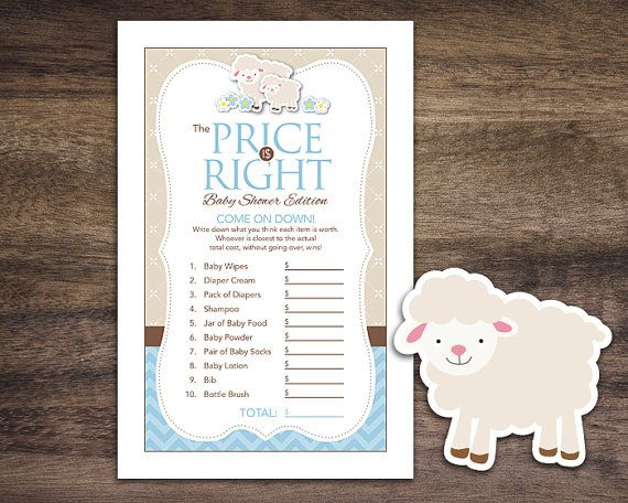 17 best ideas about lamb baby showers on pinterest | kids table, Baby shower invitations