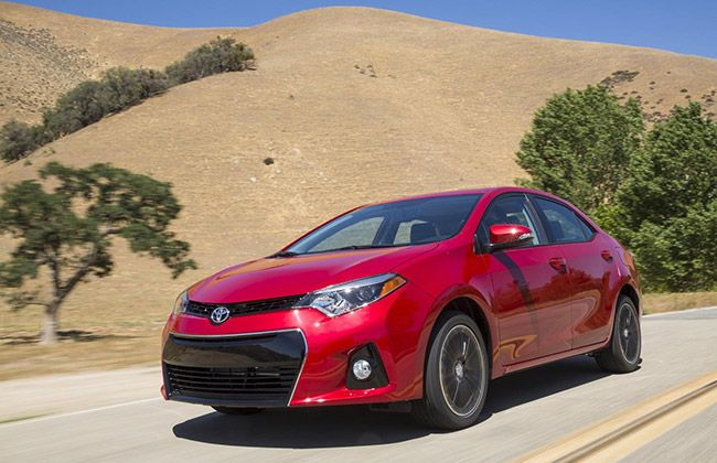 Toyota USA commences the production of all-new 2014 Corolla. #ToyotaCars