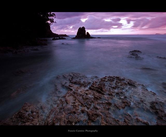 Sunrise at Waihi Beach, New Zealand