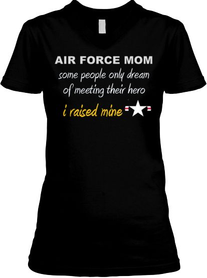 Made for Proud Air Force Moms