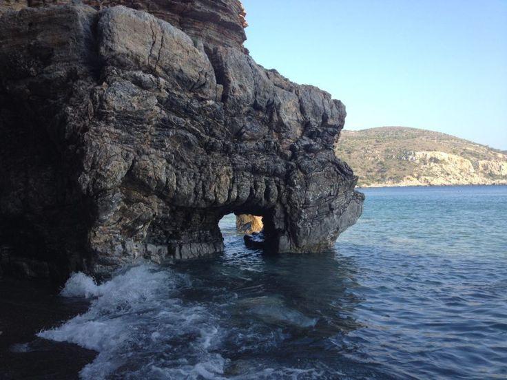 Enjoy the beautiful Apothika beach of Chios