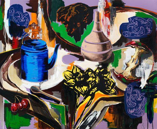 Eaten up by Adam Saks, 2014, 180 x 220 cm   adamsaks.com