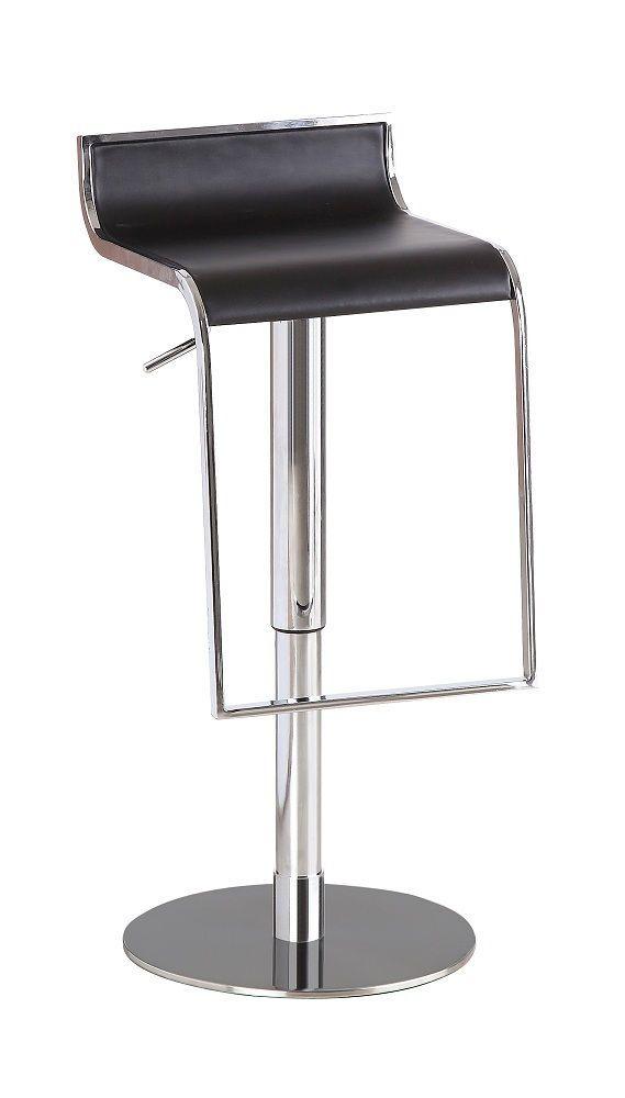 Jm027 3 Black Bar Stool In 2020 Brown Leather Bar Stools Bar Stools Modern Bar Stools