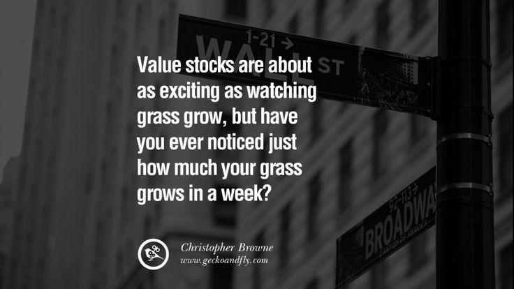 Value stocks are about as exciting as watching grass grow, but have you ever…