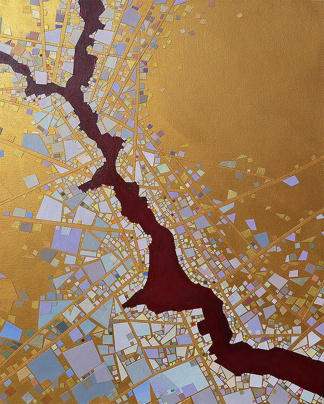 Canadian Map Before Confederation%0A The Daily Muse  Tomo Mori  Mixed Media Artist  elusivemu