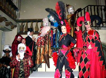 VENETIAN STYLE CARNIVAL THEMED TROUPE perform their routineS for guests at this EXCLUSIVE GOTHIC VNEUE IN CANNES   Tel: 020 3602 9540  LONDON BASED UK ENTERTAINMENT AGENCY spreading Carnival Fever for everyone across MANCHESTER, CHESHIRE, BIRMINGHAM, BRISTOL, BRIGHTON & LONDON  Tel:  020 3602 9540