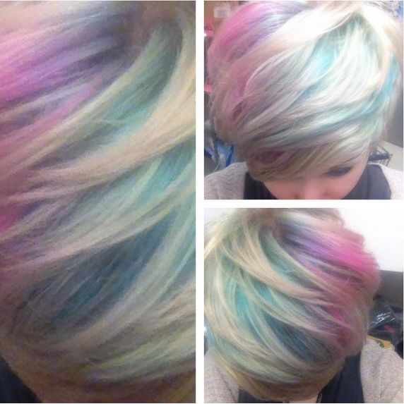 How To Iridescent Opal Amp Oil Slick Hair Glam Express
