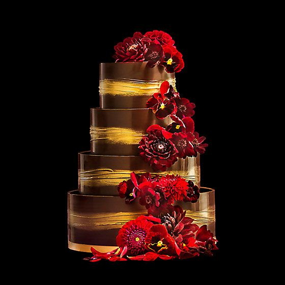 The winter wedding cake