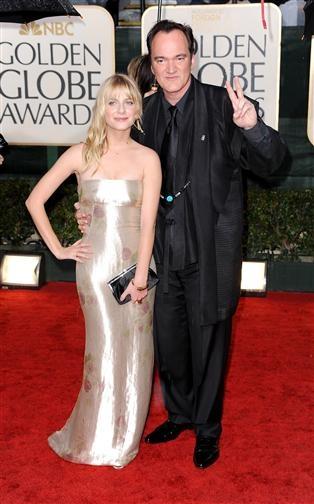 Melanie Laurent and Quentin Tarantino, Red Carpet Golden Globes 2010