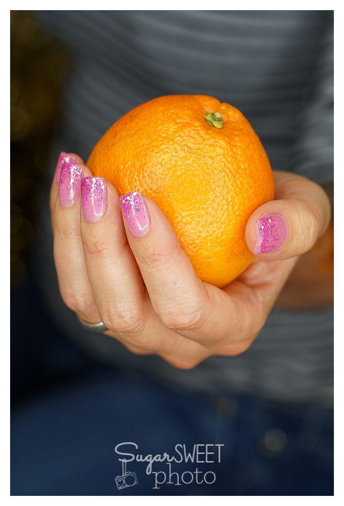 #Nails by Nagelstudio Prestige Fahimeh, Bonn; #Photo by Sugarsweet-Photo, Bonn; #Orange; #Fruit, #pinknails,  #Fingernägel