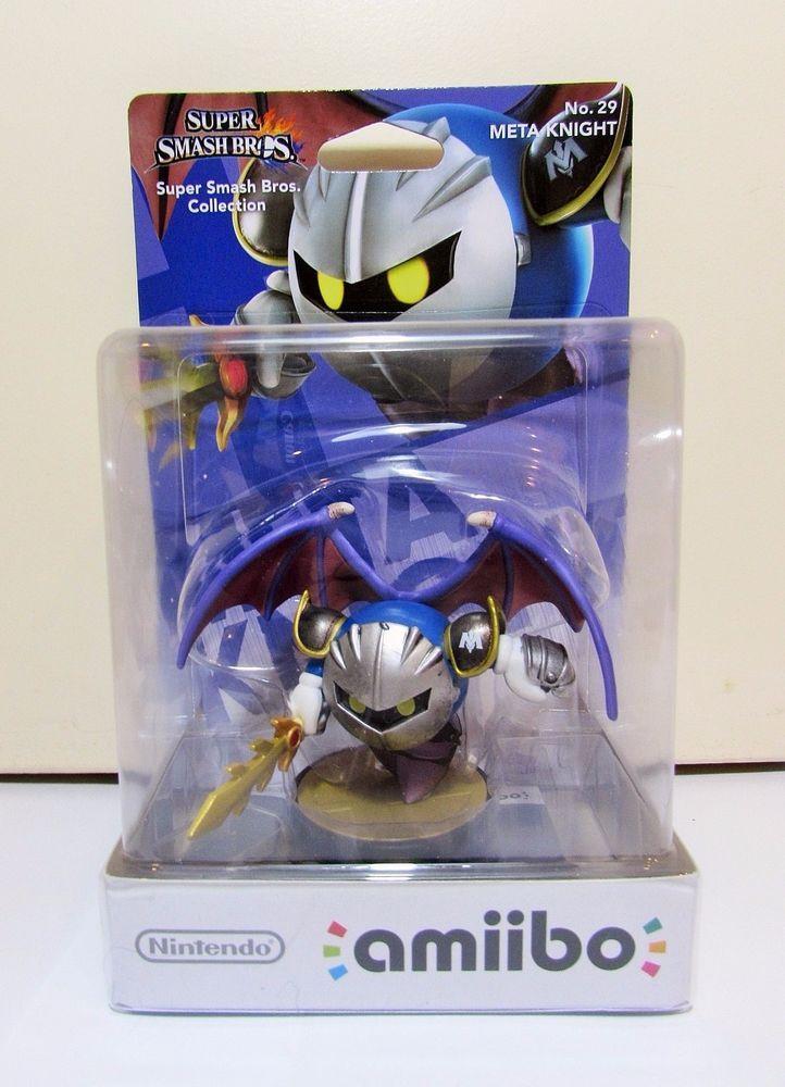 Nintendo Amiibo Super Smash Bros No 29 Meta Knight Brand New