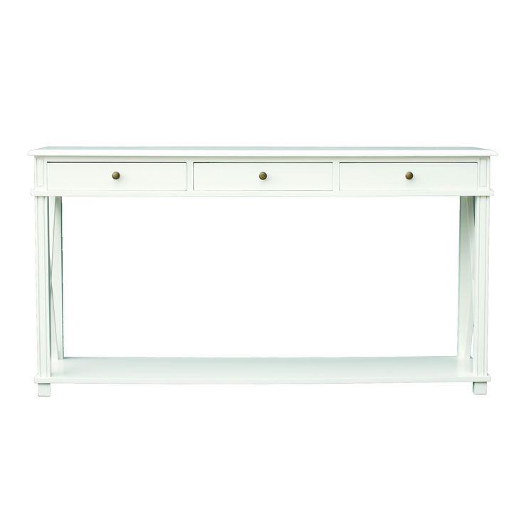 Manto Console Table White
