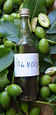 Vin de Noix- black walnut wine